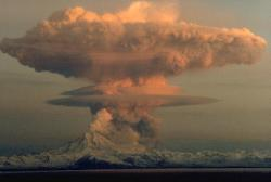 Mt. Redoubt Eruption - click to enlarge